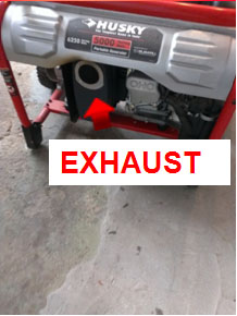 Generator Exhaust System
