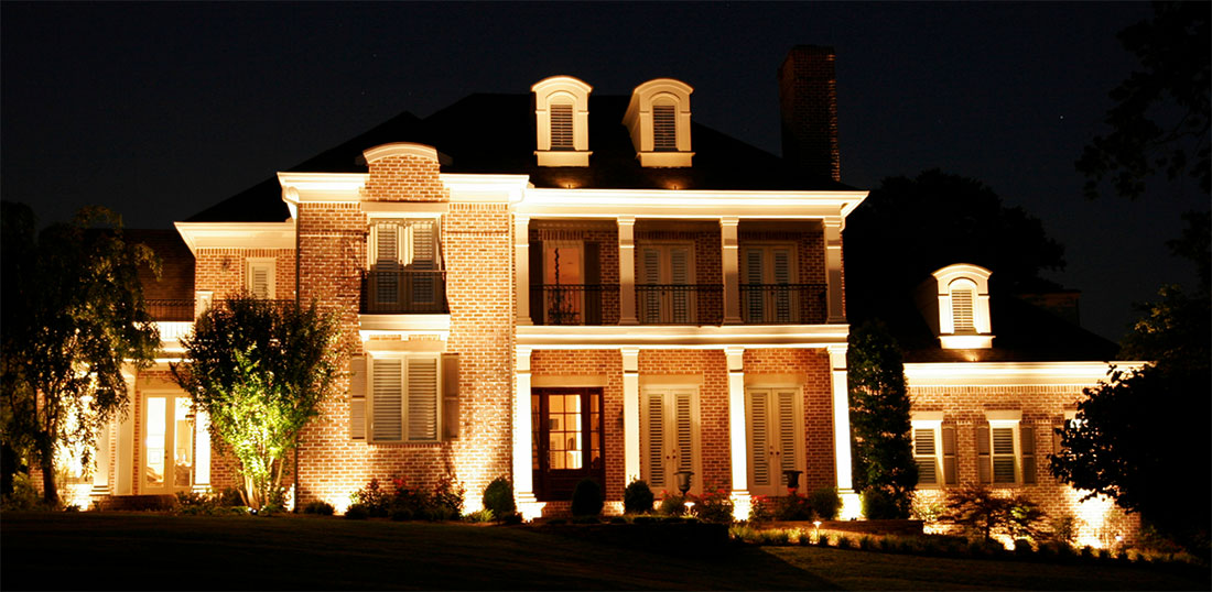 Exterior Lighting Installation