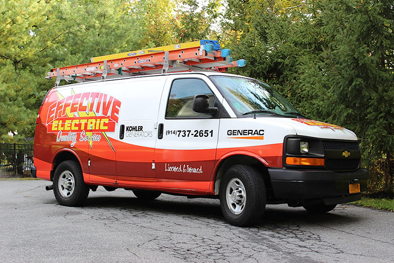 Service Calls - Effective Electric Van